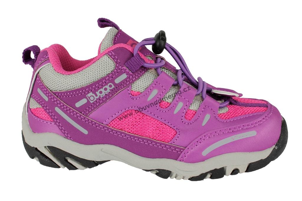 36f7d3fb81f Dětské boty Bugga růžové - Jarní podzimní