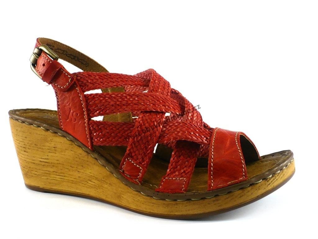 Pásková obuv Josef Seibel Mirinda na klínu - Dámské - nadměrná obuv ... 40bebd9e49