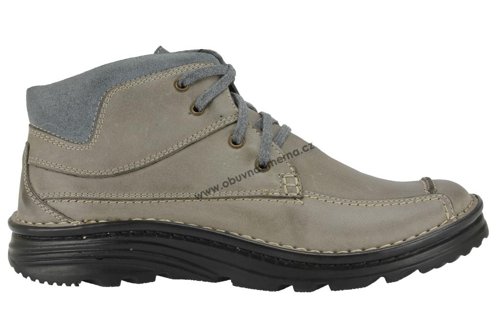 1e653fba8de Zimní boty Wawel šedé P270D - Zimní