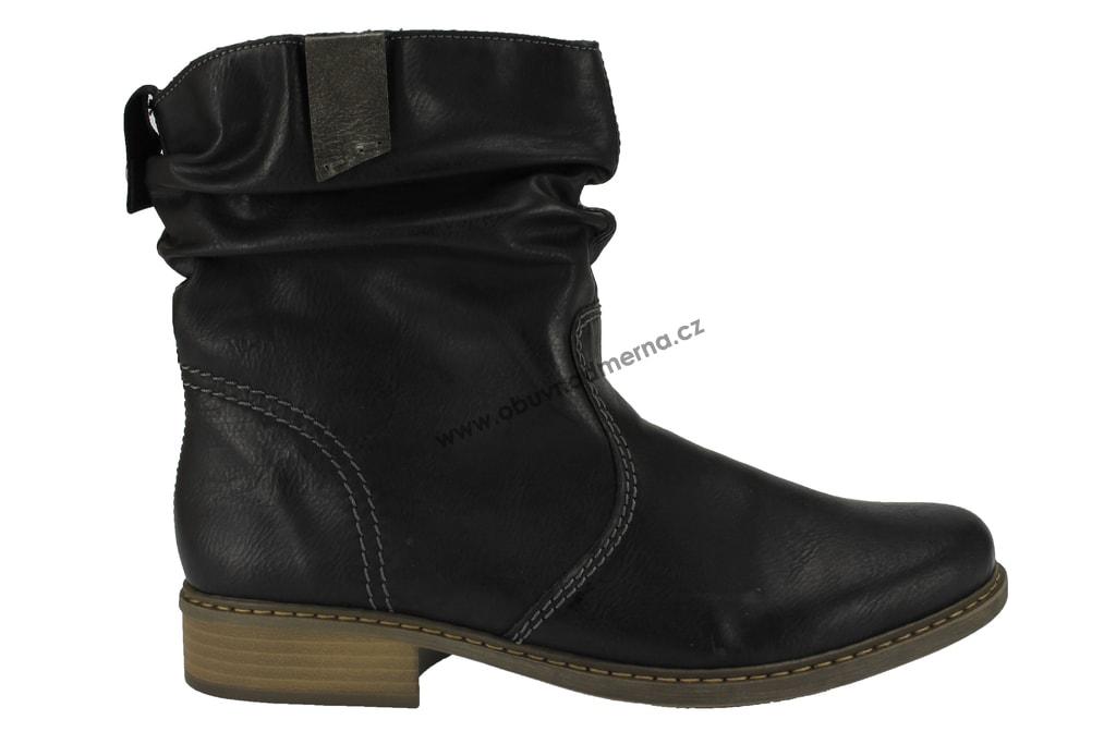 Kotníkové boty Rieker černé Z4180-00 - Kotníkové 0f3beeaa37