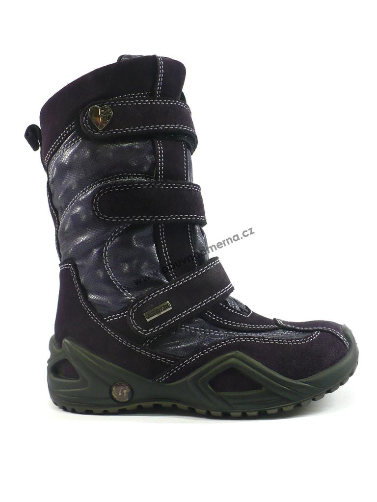 85c9c91b00d Dětská zimní obuv IMAC s membránou fialová - Zimní