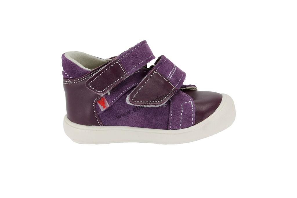 Dětské boty RAK na suchý zip fialová. Kvalitní dětská obuv. Certifikát  Žirafa ... 2771a18046