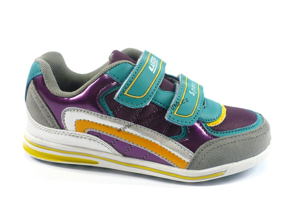 Dětská obuv Wisp fialová - Jarní podzimní f31200da56c