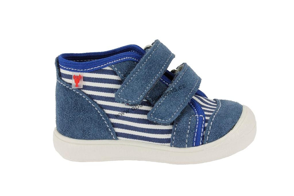 Dětské boty RAK na suchý zip modré. Kvalitní dětská obuv. Certifikát Žirafa  ... b88aa7a850