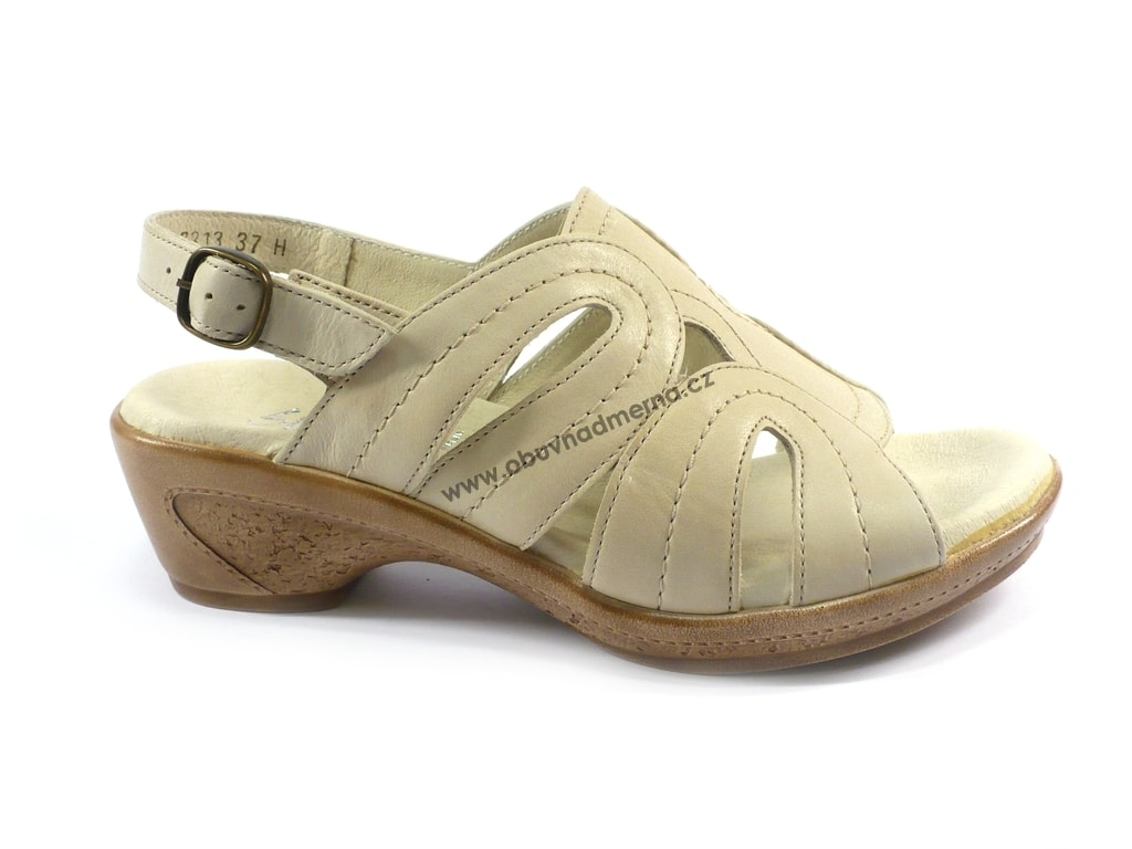 7ead9247231 Pásková obuv Silhouette krémová. Dámské letní páskové boty ...