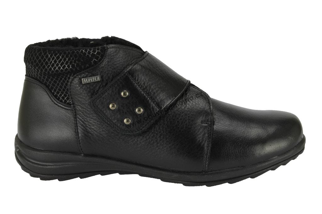 Kotníkové boty Alpina Adi K černé 7F98-C - Kotníkové 1fac7f8fae