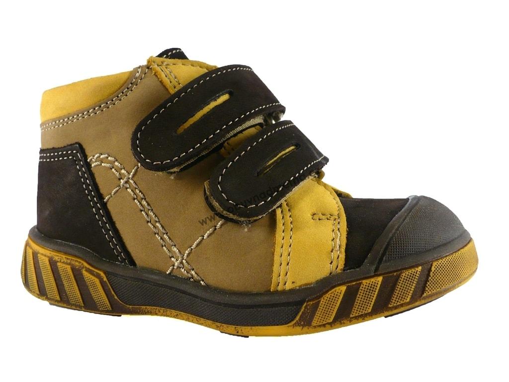 Dětská kotníková obuv Essi s pásky na suchý zip - Jarní podzimní ... f23e48d26a