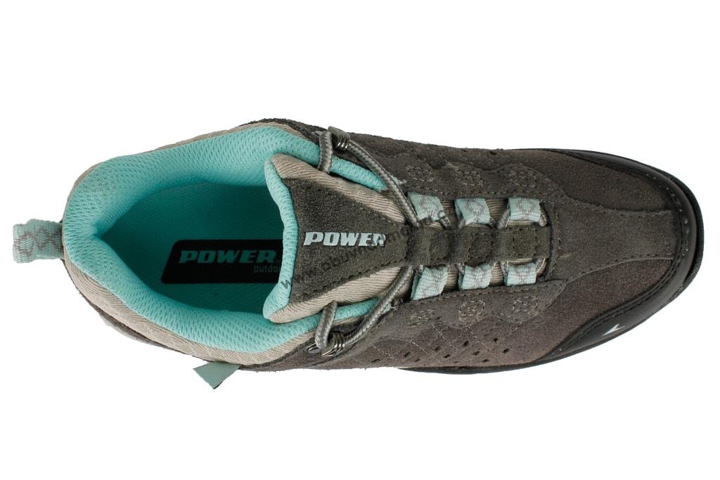 a73b82eecf7 Treková obuv Power Spectre šedá - Sportovní