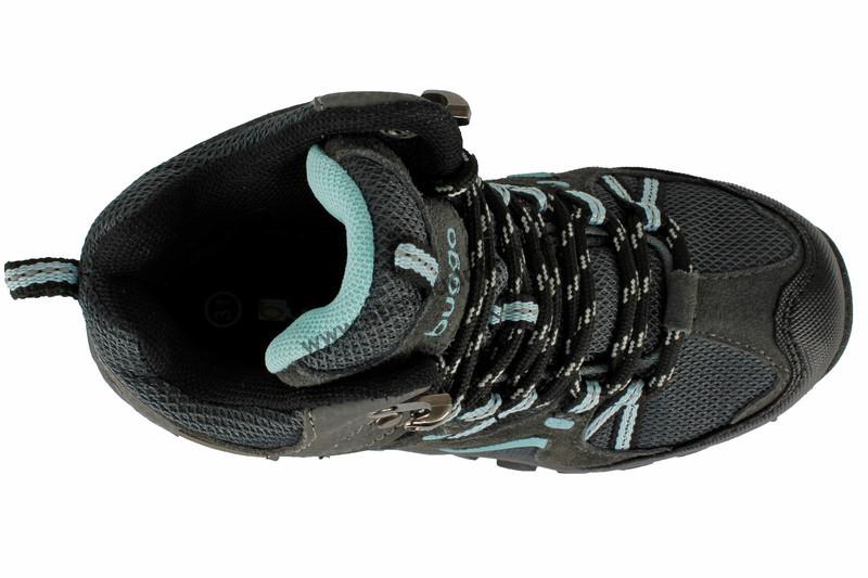 2639af85851 Dětská kotníková zimní obuv Bugga šedo-modrá - Zimní