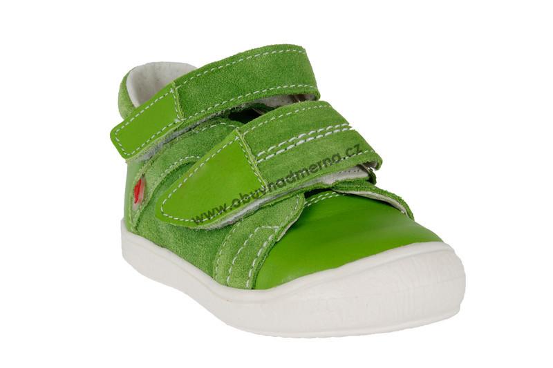Dětské boty RAK na suchý zip zelená - Jarní podzimní ea1232a340