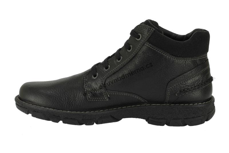 240f8e0e6b5 Kotníkové zimní boty IMAC s membránou černé - Zimní