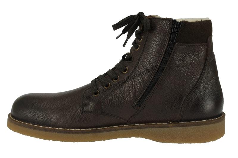 8c73e21420e Kotníkové zimní boty Rieker s membránou hnědé - Zimní