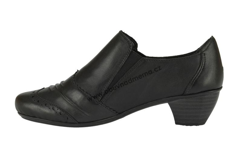 Boty Rieker na podpatku černé Boty Rieker na podpatku černé ... a93d85c11d
