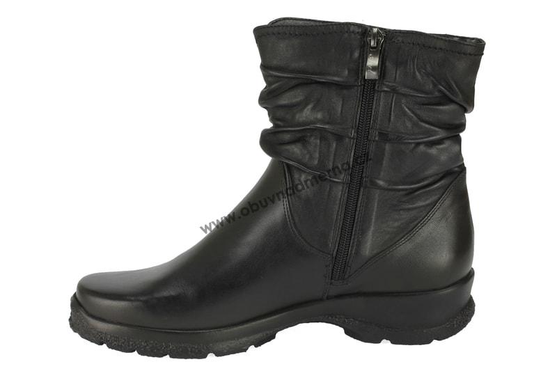 07cd7e7009c Kotníkové zimní boty Axel černé AX4085 Kotníkové zimní boty Axel černé  AX4085 ...