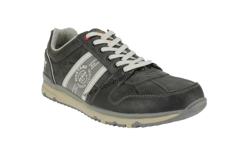 52b668e277e Nadměrné boty Mustang šedé 4095-302-200 - Tenisky