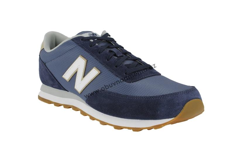 Nadměrné boty New Balance ML501RFB modré - Tenisky 29702f5120