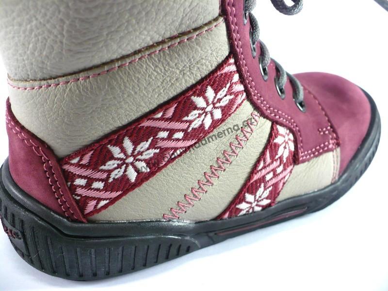 Dětská zimní obuv Essi kotníková - Zimní b67fcb9e12