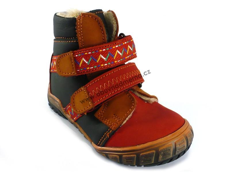 Dětská zimní obuv Essi kotníková - Zimní 64b9e5dce7