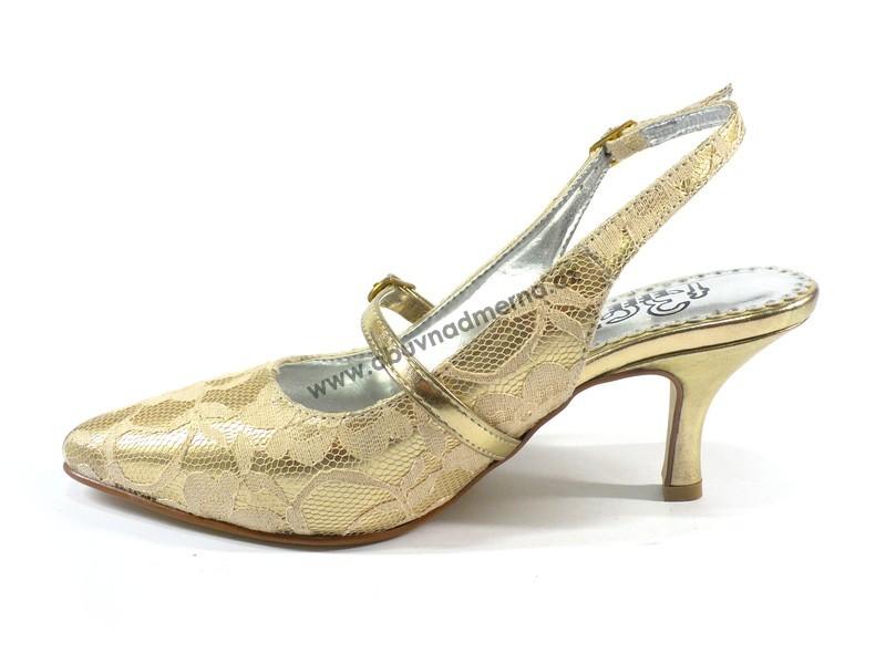 Společenská obuv Effe Tre zlatá Společenská obuv Effe Tre zlatá ... d67c0e37f1