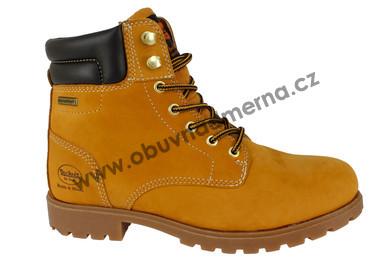 b1acadde17e Kotníkové zimní boty Dockers s SympaTEX membránou pískové - Zimní ...
